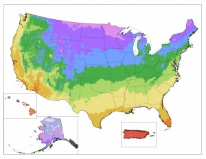 New USDA Plant Hardiness Map – 1/31/12